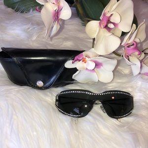 Salvatore Ferragamo rhinestone sunglasses